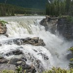 Fresh glacier water comes roaring down during August