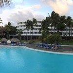 Vista del hotel desde el Bar de la piscina