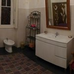 Bathroom next to room 6