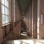 館内の階段は建造物として見どころ
