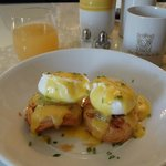 """""""To live for"""" eggs Benedict the Erin the Chef way!"""