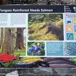 Sitka Sound Science Center Sea Walk Placard