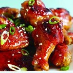 Great Buffalo Wings -  ginger sweet & sour
