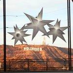 Symbole d'Hollywood depuis Hollywood and Hignland complex