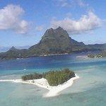 vue générale de Bora-Bora