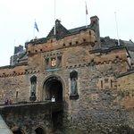 Edinburgh Castle - starting point of our walking tour