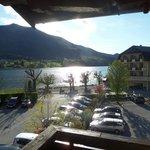 unser Balkon mit Seeblick