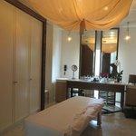 Our en suite massage table