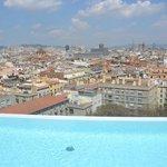 Vue panoramique du toit