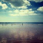 Beach view of St Brelades Bay