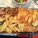 Seafood Platter for One