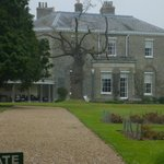 The view of Hoveton Hall from the gardens