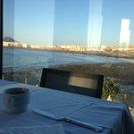 Lovely breakfast view