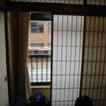 Minibalkon im Doppelzimmer