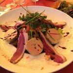assiette gourmande foie gras/magrets fumés