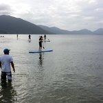 Deportes en la laguna para niños 1mt profundida