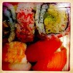 sushi combo.