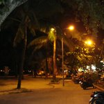 at the night