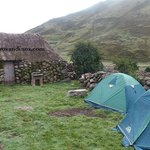Camping in Incan communities
