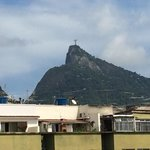 View of Christ the Redeemer from the rooftop