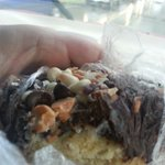 7 layer cookie bar. Yum