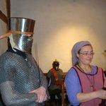 Ein Ritter mit Burgfräulein