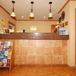 Our warm and inviting reception/lobby area where you will get great service with a smile