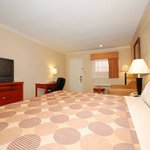 "Our spacious room with one King Bed , free wi-fi, 32"" flat sceen TV, with full hot breakfast"