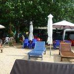 Uitzicht op Nusa Pineda