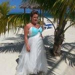 Wedding pics from beach
