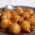 Loukoumades (Deep fried donuts with honey)