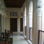 Upstairs Portico