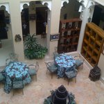 View of Foyer from Upstairs Portico
