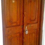 Room Door w/ Charming Old Hardware