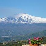 Volcan Etna desde el hotel