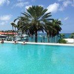 Marina hotel pool