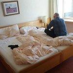 Die Betten waren bequem