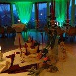 Festsaal im Sonnenhof: Hier beim Krimidinner