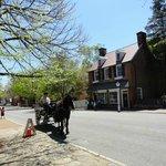 Old Salem street scene