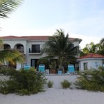 View of Turtle Nest Inn from Beach