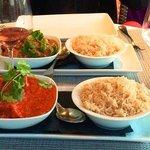 Chicken Tikka Masala & Chicken Curry