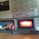 Fireside Suite Log Fire