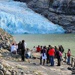 Excursion con AGUNSA, en el Glaciar Serrano.
