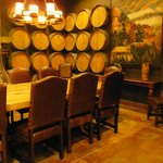 Private tasting room