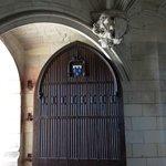 Door inside the castle