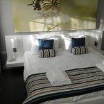 Compact but comfy bedroom