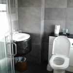 Small clean bathroom