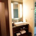 Shower and then, door to outdoor shower