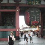 Entering the Asakusa Temple grounds