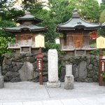 Small shrines nearby